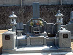 磯石材工業の墓石施工